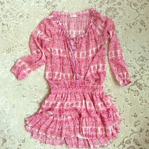 Loveshackfancy pink dress